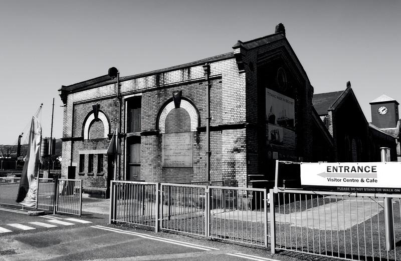 Old Pump-house<br /> Titanic's Dock<br /> Belfast