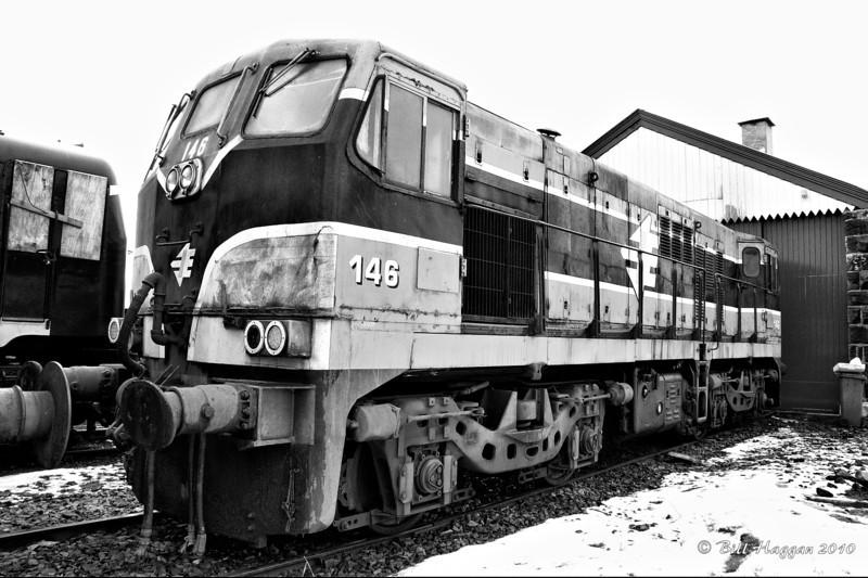 146 rests in Downpatrick sidings