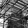 Scaffolding. Castle Caulfield