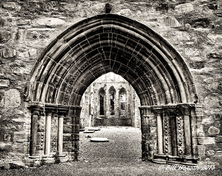 The Great West Door, Grey Abbey, County Down