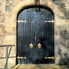 Entrance doors, Bangor Abbey, County Down