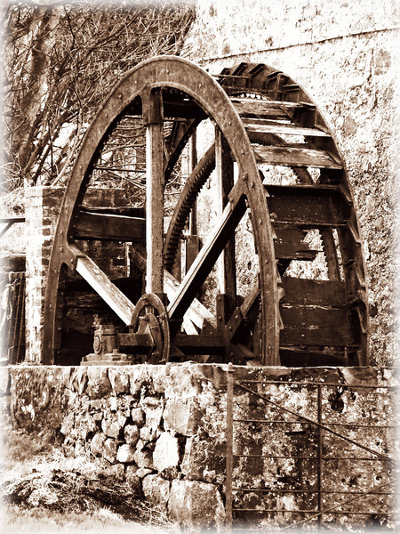 Old Waterwheel<br /> Drains Bay<br /> County Antrim<br /> Pictured by Michelle<br /> Posted: 24/1/2014