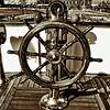 Ships Wheel<br /> SS Nomadic<br /> Belfast