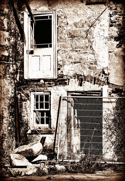 Dereliction. Rathfriland, County Down