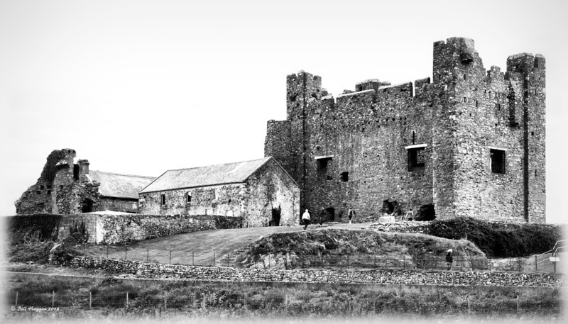 Green Castle, County Down. A 12th Century Royal Castle.