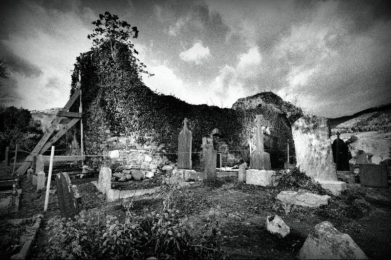 Kilbroney Old Church, Rostrevor, County Down