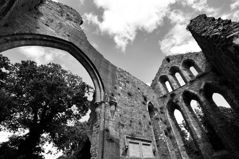 Grey Abbey, County Down. Twelfth Century.