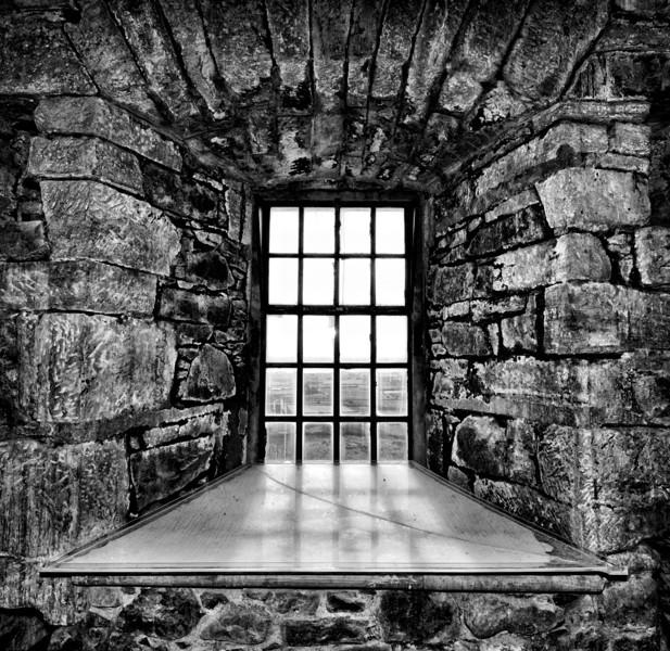 Inside Scrabo Tower, Newtownards