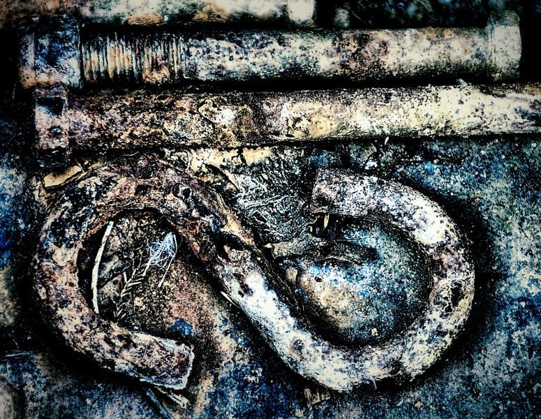 Bits of old metal