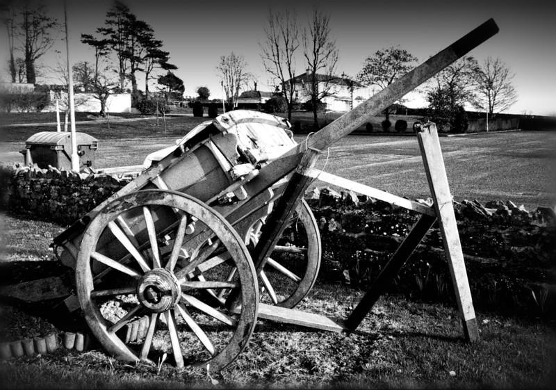 Old cart, Crossmaglen, South Armagh