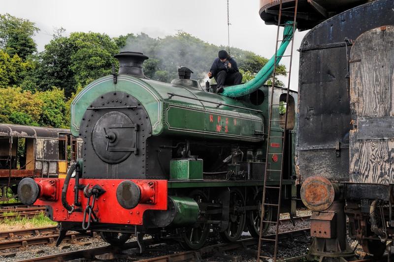 RPSI No3, Harvey, seen here at Downpatrick Station