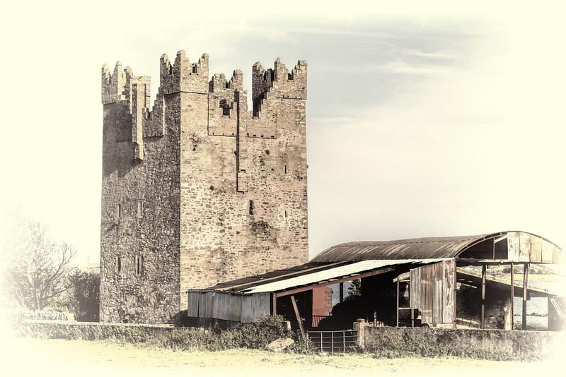 Kilclief Castle, County Down