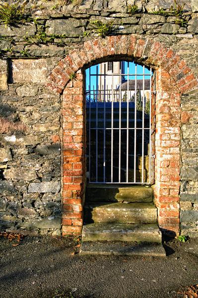 Old Church gate, dated 1786.