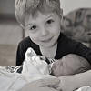 Daily Photos  -  March 19, 2012<br /> <br /> Visiting mommy at the hospital... My 3 year old son meeting and holding the newest addition to out family for the very first time. The baby is less than a week old and he is already the best big brother!