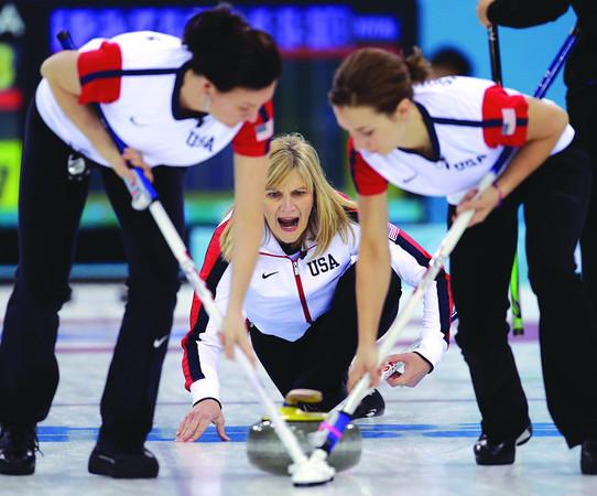 Sochi Olympics Curling Women