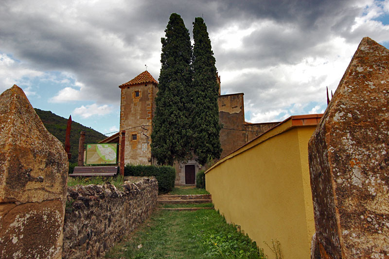 Sant Vicenz Church in Cardona, Catalonia, Spain