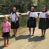 Most residents of Breb, Maramures, in the Transylvanian area of Romania, walk to all destinations