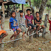 Kids from a tiny village along the southern Mekong River in Laos