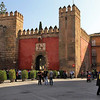 Royal Alcazar, formerly a Moorish fort, is still used as a residence by His Royal Majesty Juan Carlos when he visits Seville, Spain