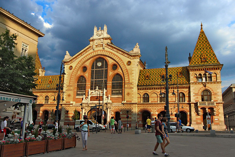 For foodies, the Central Market in Budapest, Hungary is a mandatory stop
