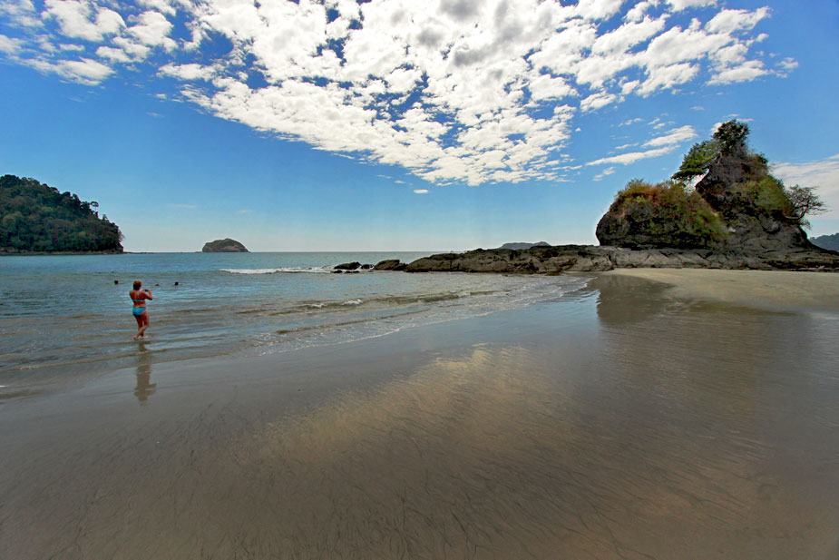 Another lovely beach in Manuel Antonio National Park, Costa Rica