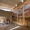 Oecus (main living room of a Roman house) at Villa di Poppaea Sabina in ancient Oplontis, now Torre Annunziata