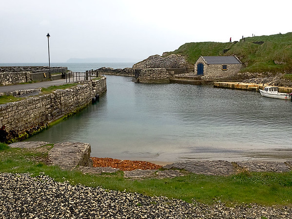 Ballintoy Harbour in Northern Ireland was used as a site used during the filming of season two of Game of Thrones
