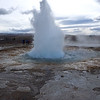 Strokkur Geyser at Geysir Hot Springs in Iceland