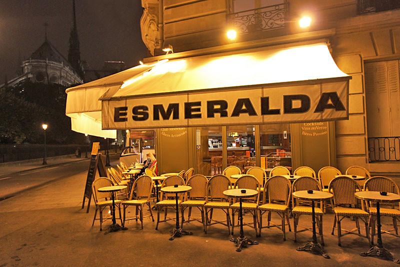Typical cafe, Paris, France