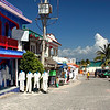 Strolling along Fifth Avenue in Playa del Carmen, Mexico