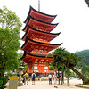 Five-storied Pagoda on Miyajima Island, near Hiroshima, Japan