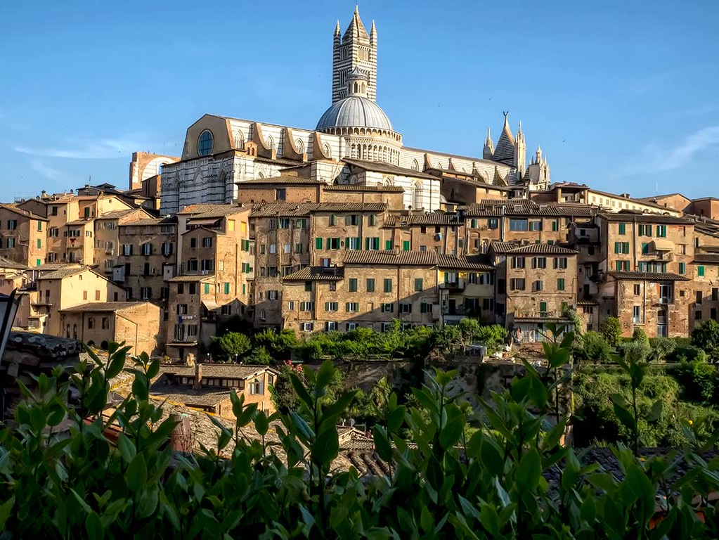 My Tuscan retreat in Siena, Italy, included a visit to the hilltop town of Siena, where the skyline is topped by the Duomo, Cattedrale de Santa Maria Assunta