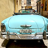 Classic convertible on the streets of Old Havana, Cuba