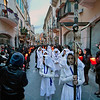Good Friday Street Procession in Taormina, Sicily, Italy