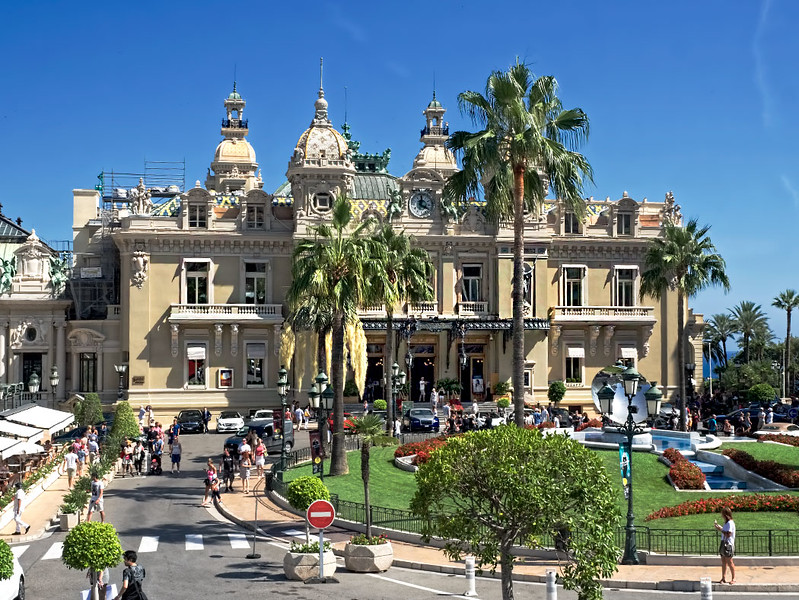 Monte Carlo Casino in Monaco is open to all but citizens of the tiny country