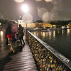 Love Locks left on the Pont des Arts Bridge, Paris, France
