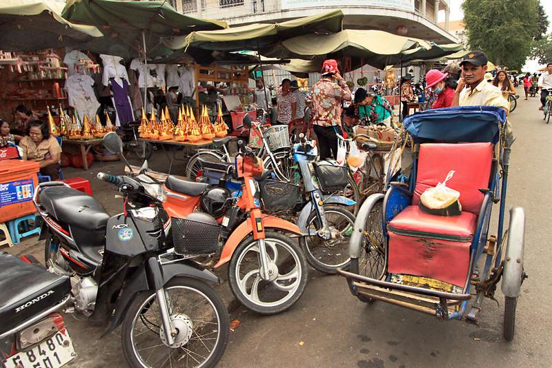 Streets of Phnom Penh, Cambodia