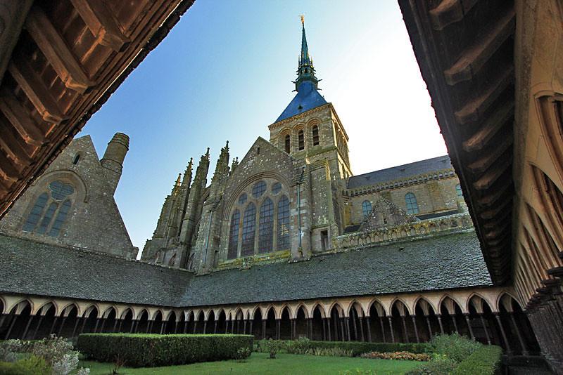 Mont Saint Michel Abbey, Normandy, France