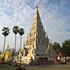 Khan Tom Temple at Wat Chedi Liem, the original site of Chiang Mai, Thailand, before it was buried by floods