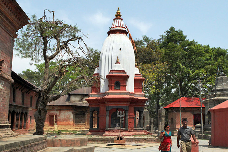Goraknath Temple in Kathmandu, Nepal is devoted to Parvati, wife of Shiva