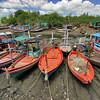 Fishing Fleet at Fisherman's Market, Hua Hin, Thailand