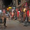 Evening in the Backpacker District of Thamel, Kathmandu, Nepal