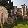 One of the best preserved buildings at Pompeii, the Temple of Isis provides proof positive that the city had ties to Egypt, as it was used by members of the cult of the Egyptian goddess Isis.