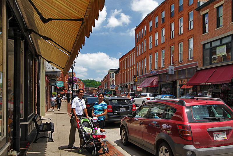 Historical Galena, an Illinois Mississippi River town