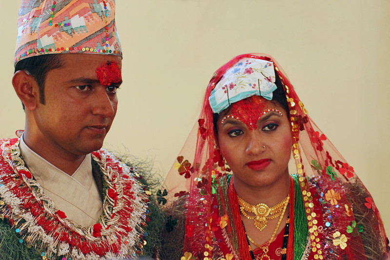 PHOTO Traditional wedding in Chitwan, Nepal