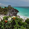 Ancient Mayan ruins of Tulum, in the Yucatan Peninsula of Mexico