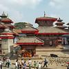 Ancient Palaces in Durbar Square, Kathmandu, Nepal