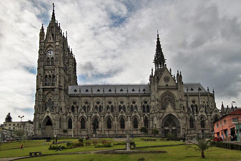 The Basilica in Quito