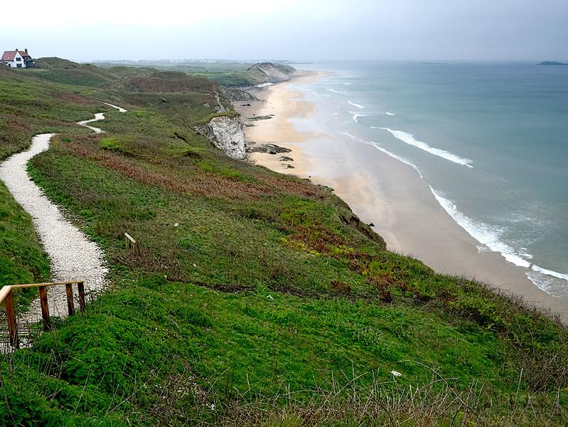 Whiterocks Coastal Park on the Coastal Causeway in Northern Ireland