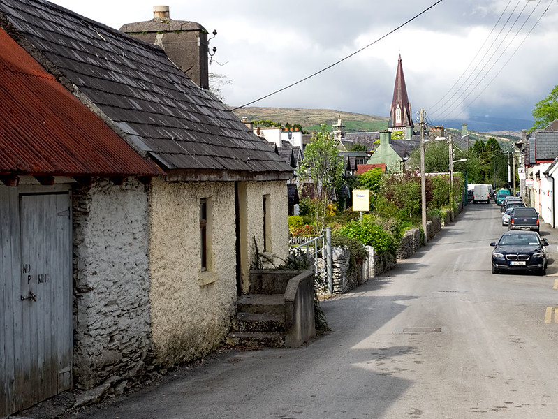 Town of Kenmare on the Kerry Peninsula, Ireland